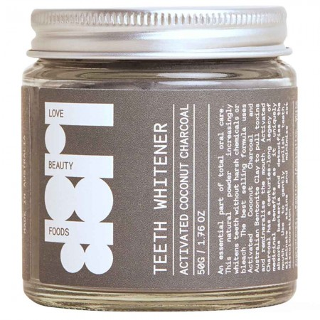 Love Beauty Foods Teeth Whitener 50g - Activated Charcoal