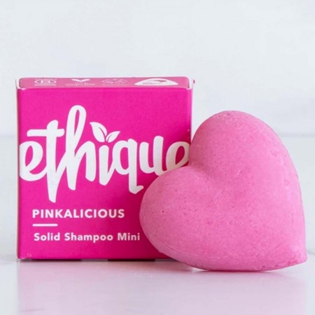 ETHIQUE Mini 15g Solid Shampoo Bar for Normal Hair -Pinkalicious
