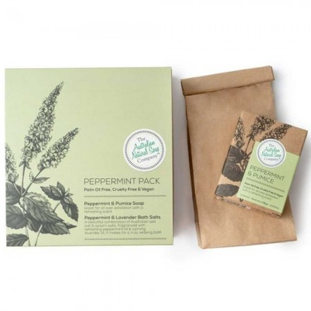 Australian Natural Soap Company Gift Box - Peppermint Pack