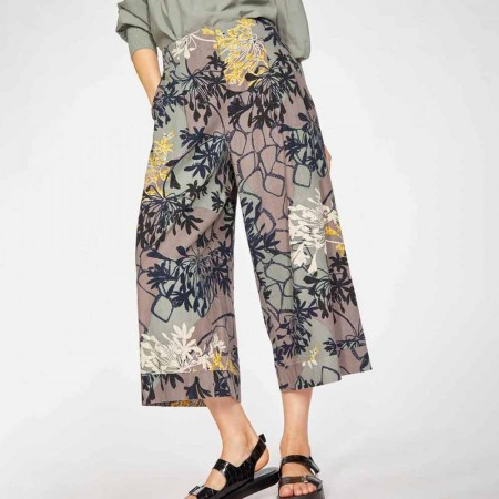 Thought Brielle Culottes - Smoke Grey