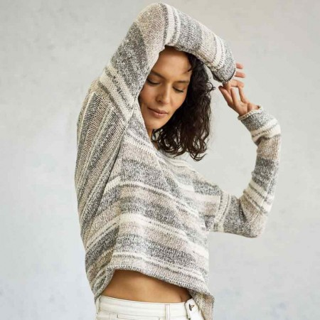 Thought Lena Tape Yarn Jumper - Sage