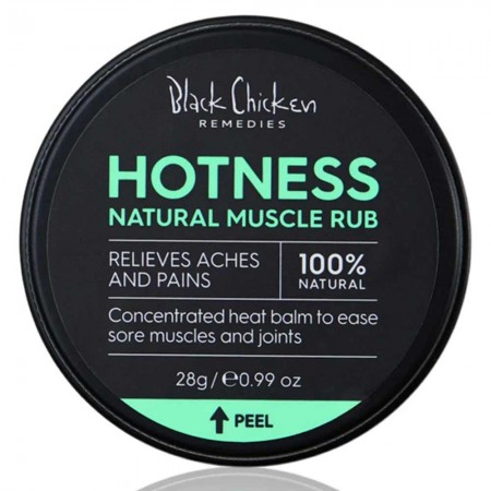 Black Chicken Remedies Hotness Natural Muscle Rub 28g