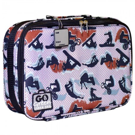 Go Green Lunch Box BAG ONLY - Extreme Sports