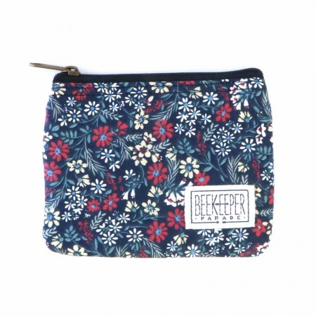 Beekeeper Parade Coin Purse - Misty Floral