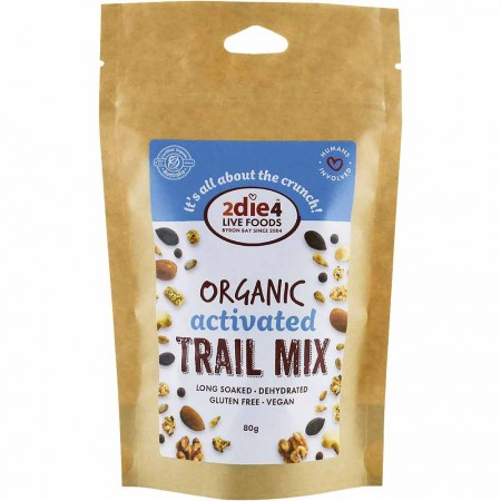 2DIE4 LIVE FOODS Organic Activated Nuts 80g - Trail Mix