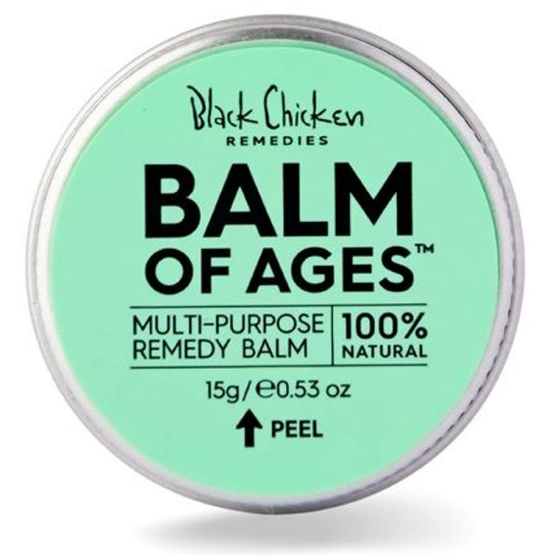 Black chicken remedies - balm of ages mini 15g
