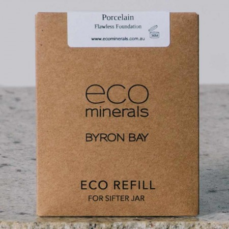 Eco minerals foundation 5g REFILL sachet - flawless porcelain