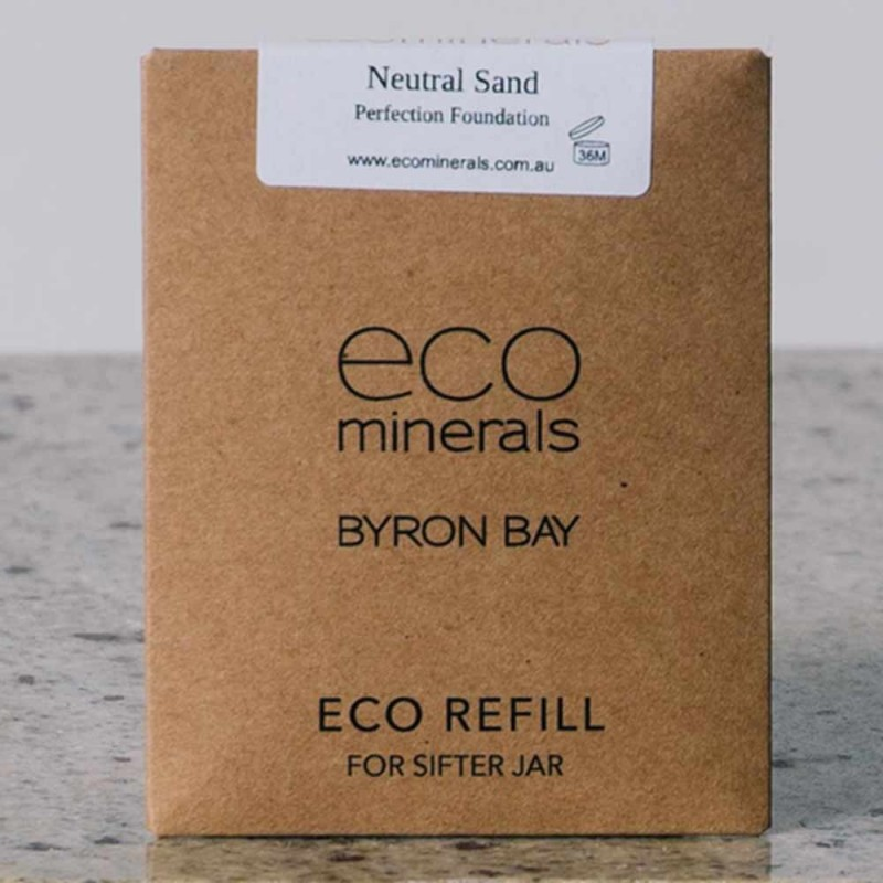 Eco minerals foundation 5g REFILL sachet - perfection neutral sand