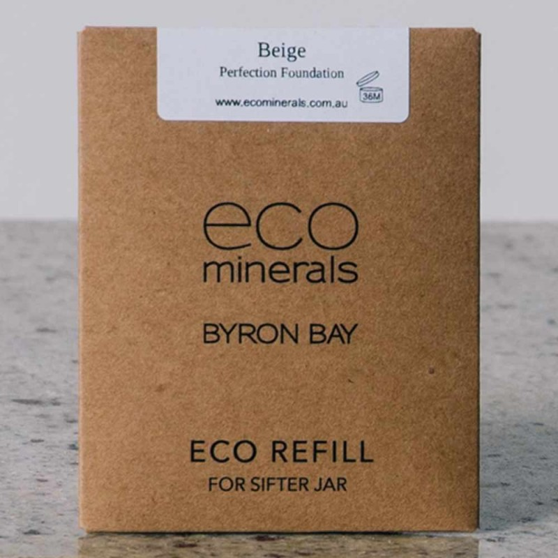 Eco minerals foundation 5g REFILL sachet - perfection beige