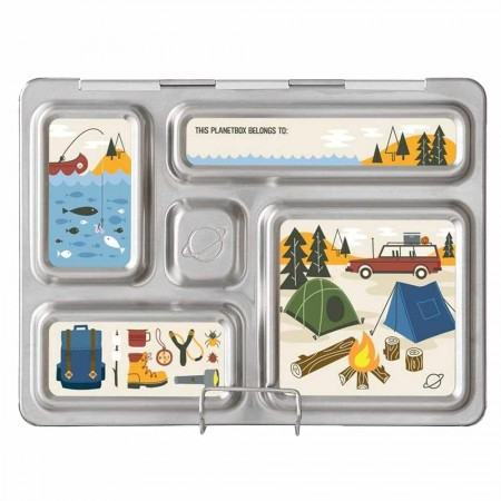 PlanetBox Rover Kit CAMPING (Box, Containers, Magnets)