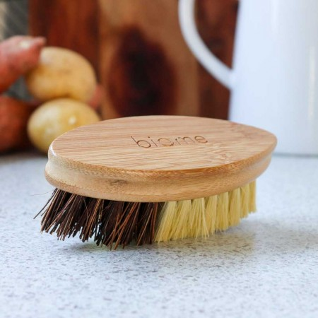 Biome Bamboo Oval Vegetable Brush