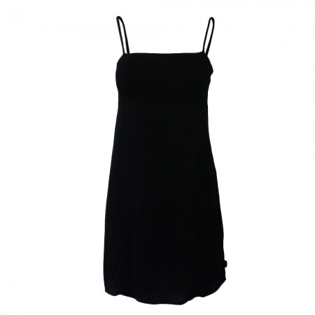 Afends Lola Recycled Mini Dress - Black