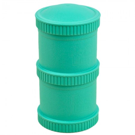 Re-Play Recycled Snack Stack - Aqua