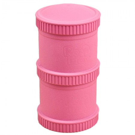 Re-Play Recycled Snack Stack - Bright Pink