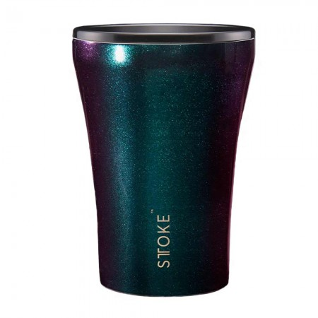 Sttoke Insulated Reusable Cup 227ml/8oz - Cosmic Green