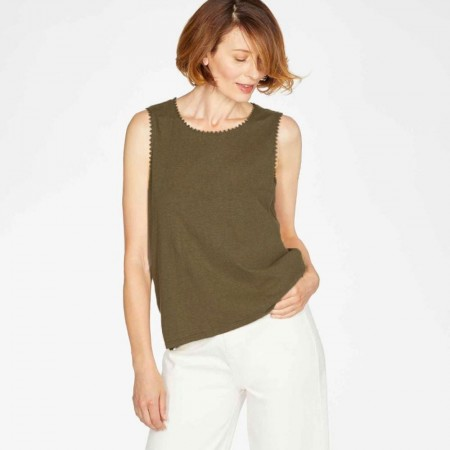 Thought Betta Vest Top