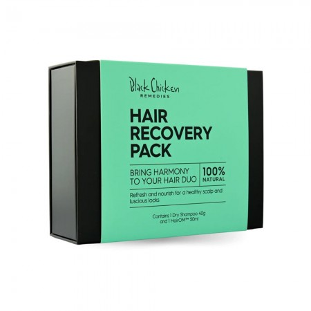 Black Chicken Remedies Hair Recovery Pack