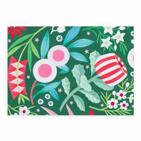 Earth Greetings Christmas Wrapping Paper - Merry Natives