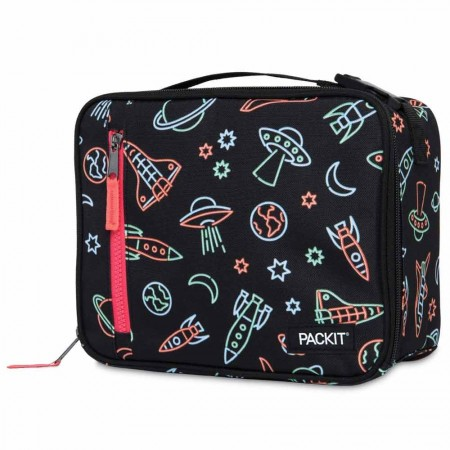 PackIt Freezable Classic Lunch Box - Neon Space