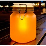 SunJar - solar powered lamp (yellow)