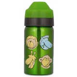 Ecococoon 350ml Zoo Friends Stainless Steel Water Bottle
