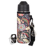 Ecococoon Cuddler 600ml Medici Flowers bottle cover