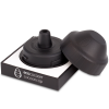 Ecococoon Cap mouthpiece & lid set - black