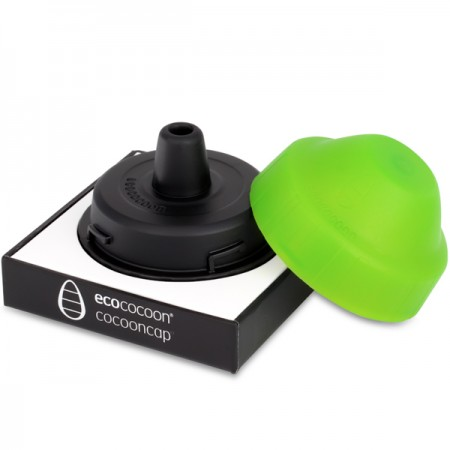 Ecococoon Bottle Mouthpiece/Lid Spring Green