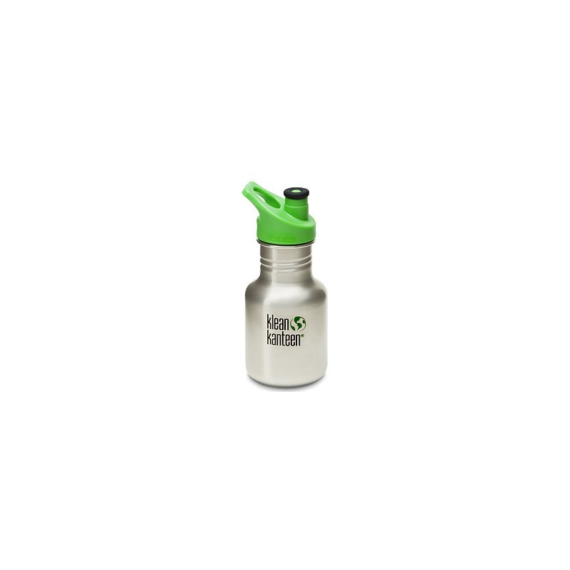 Klean Kanteen (12oz) 355ml bottle - brushed steel NEW