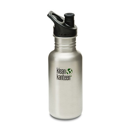 Klean kanteen classic 18oz 532ml Stainless Steel Water Bottle - brushed steel