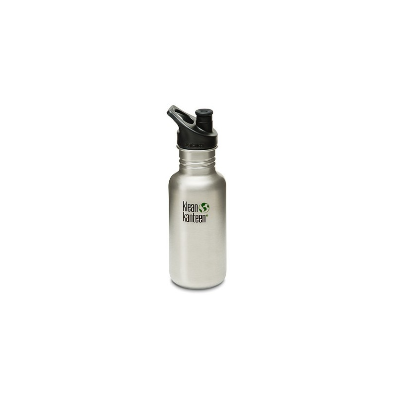 Klean Kanteen (18oz) 532ml bottle - *brushed steel NEW