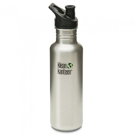 Klean Kanteen (27oz) 800ml bottle - brushed steel NEW