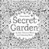 Buy Secret Garden : An Inky Treasure Hunt & Colouring Book