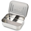 LunchBots trio (silver 3 parts) stainless steel lunch box
