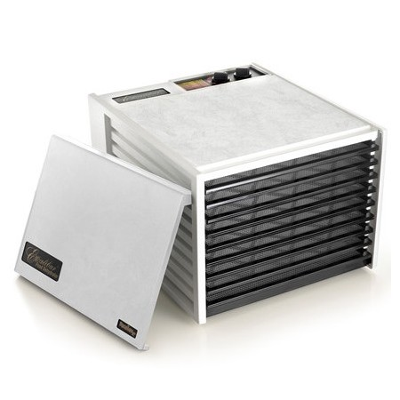 Excalibur Dehydrator 9 Tray food dryer - white with timer