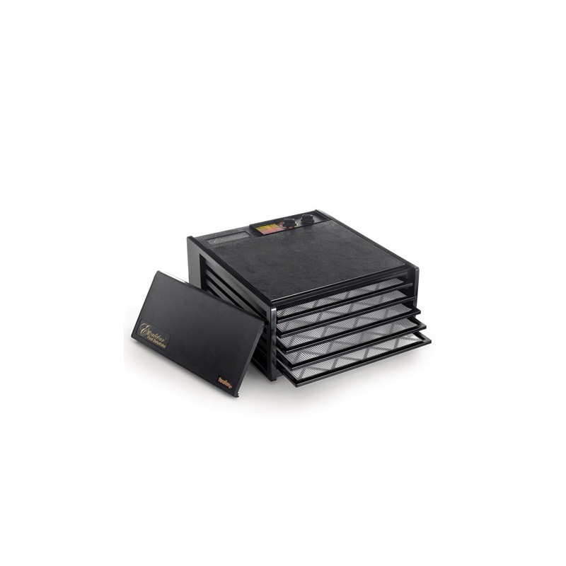 Excalibur Dehydrator 5 Tray food dryer - black with timer