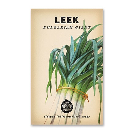 Heirloom seeds - leek bulgarian giant