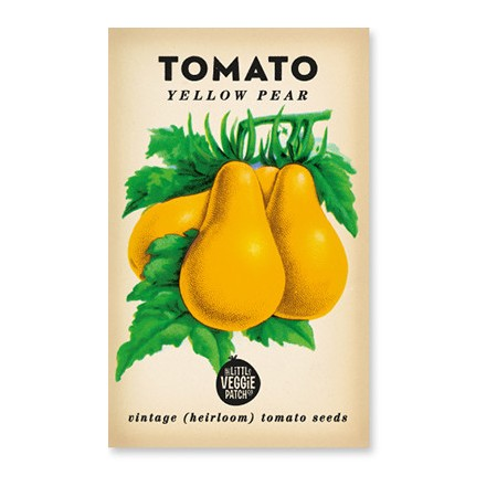 Heirloom seeds - tomato yellow pear