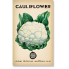Heirloom seeds - cauliflower snowball