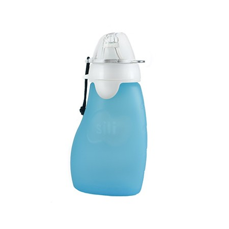 Original Squeeze with Eeze 6oz (175ml) Free Flow spout - reef blue