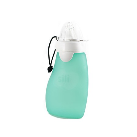 Original Squeeze with Eeze 6oz (175ml) Free Flow spout - leaf green