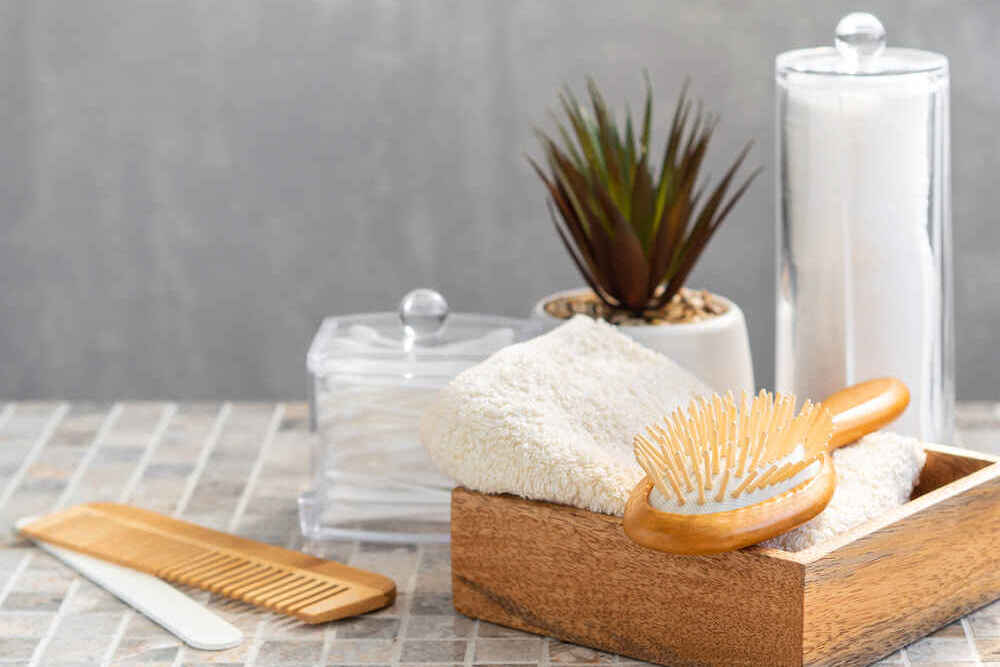 3 Simple Swaps - Wooden Combs & Brushes