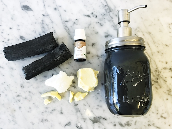 Charcoal Acne Cleanser Recipe