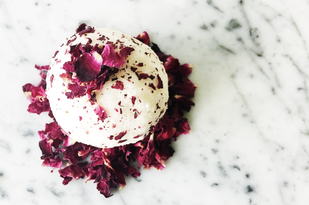 DIY Skincare - Moisturising Rose Bath Bombs