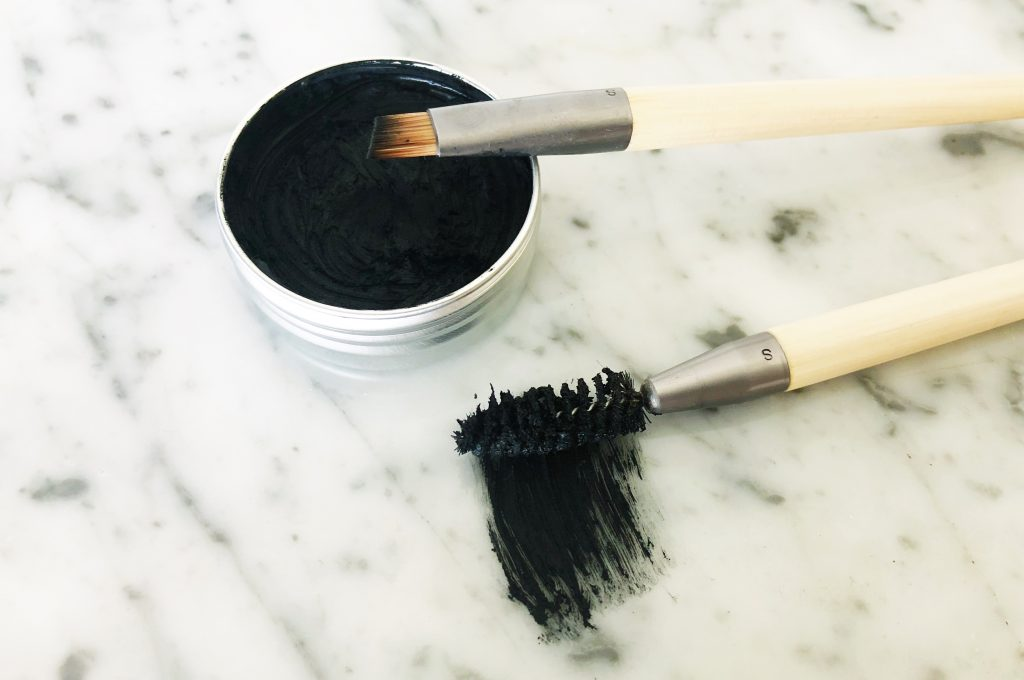 Make your own DIY natural mascara and natural eye liner | Biome Naked Beauty Bar | Biome Eco Stores