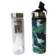BBBYO Glass Tea Flask with Cover