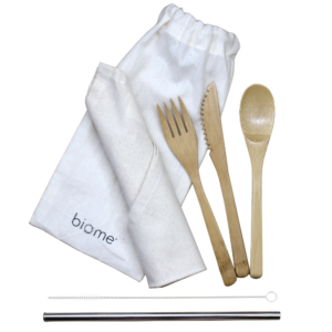 Biome Eco Stores | Reusable Cutlery Set
