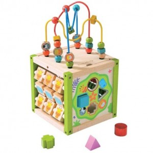 EverEarth educational wooden toys - my first multi play activity