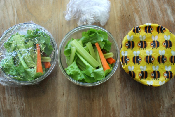 Break Up with Cling Wrap this Christmas - Zero Waste Food Storage Ideas