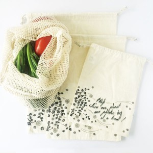 Ethical New Years Resolution - Single Use Plastic Free in 2017 - Reusable Produce Bags